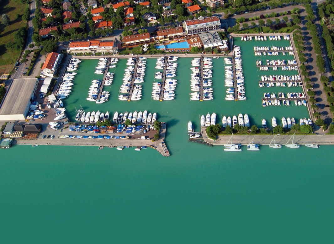 Port of Marina Uno - View from above